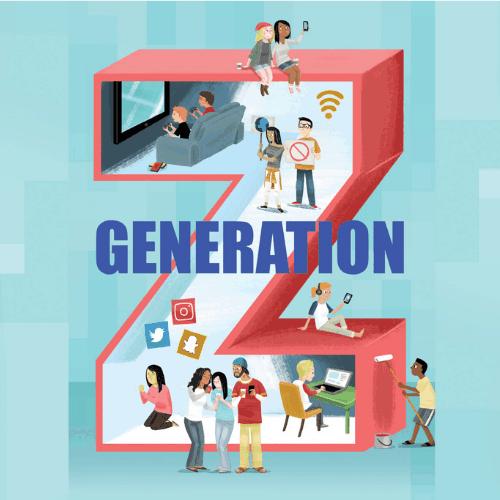 Etudiants, génération Z.