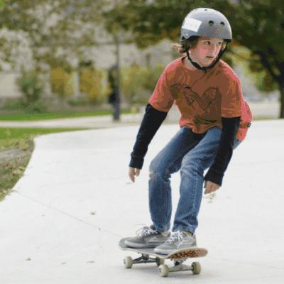 Talent skateboard.